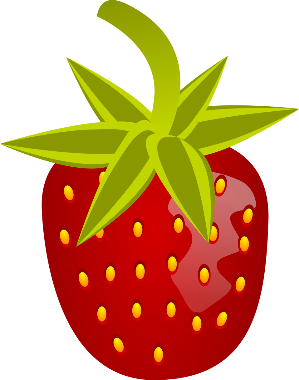 Illustration of a strawberry : Free Stock Photo