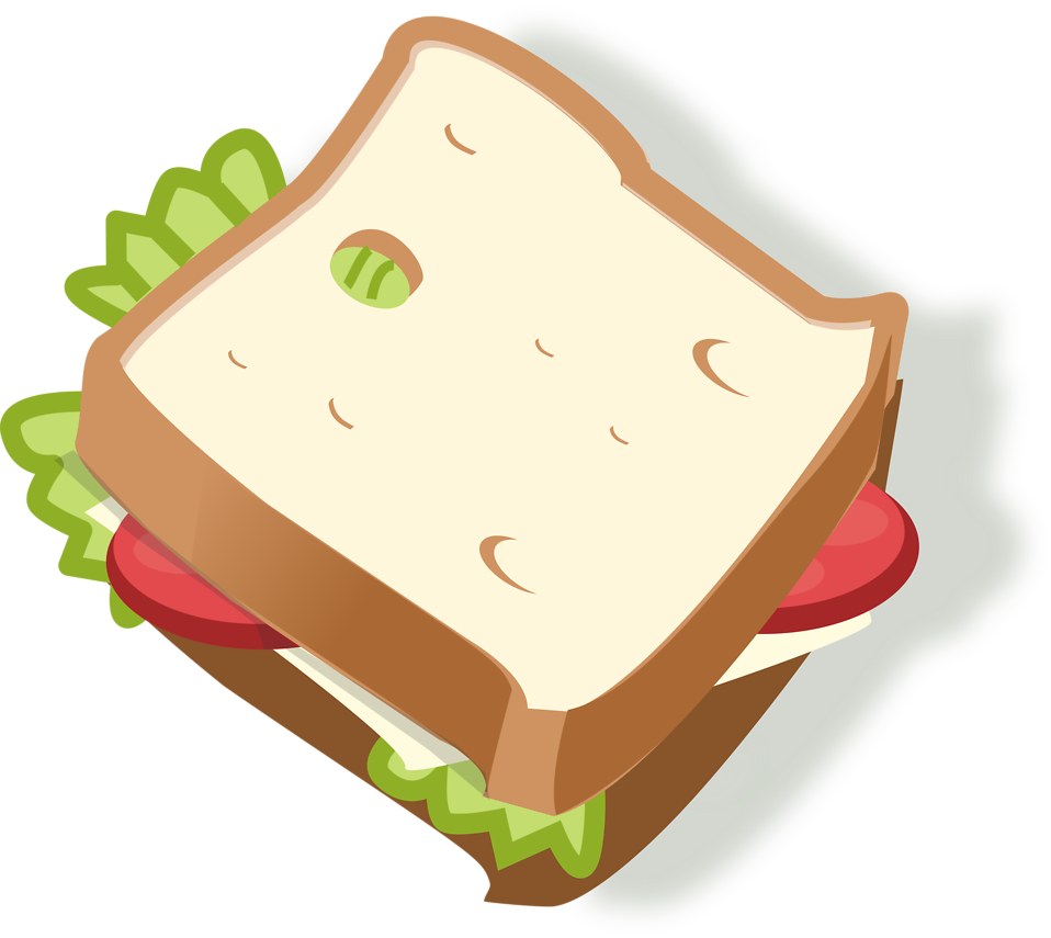 Illustration of a sandwich : Free Stock Photo