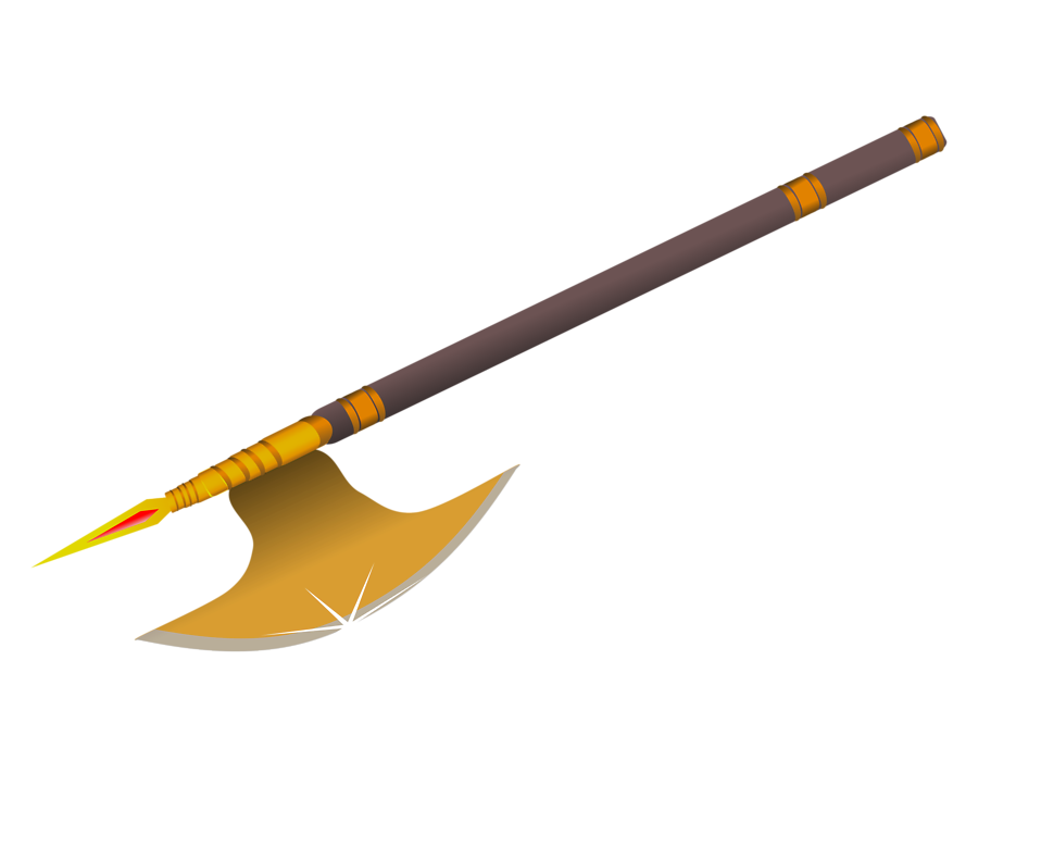 Illustration of an axe : Free Stock Photo