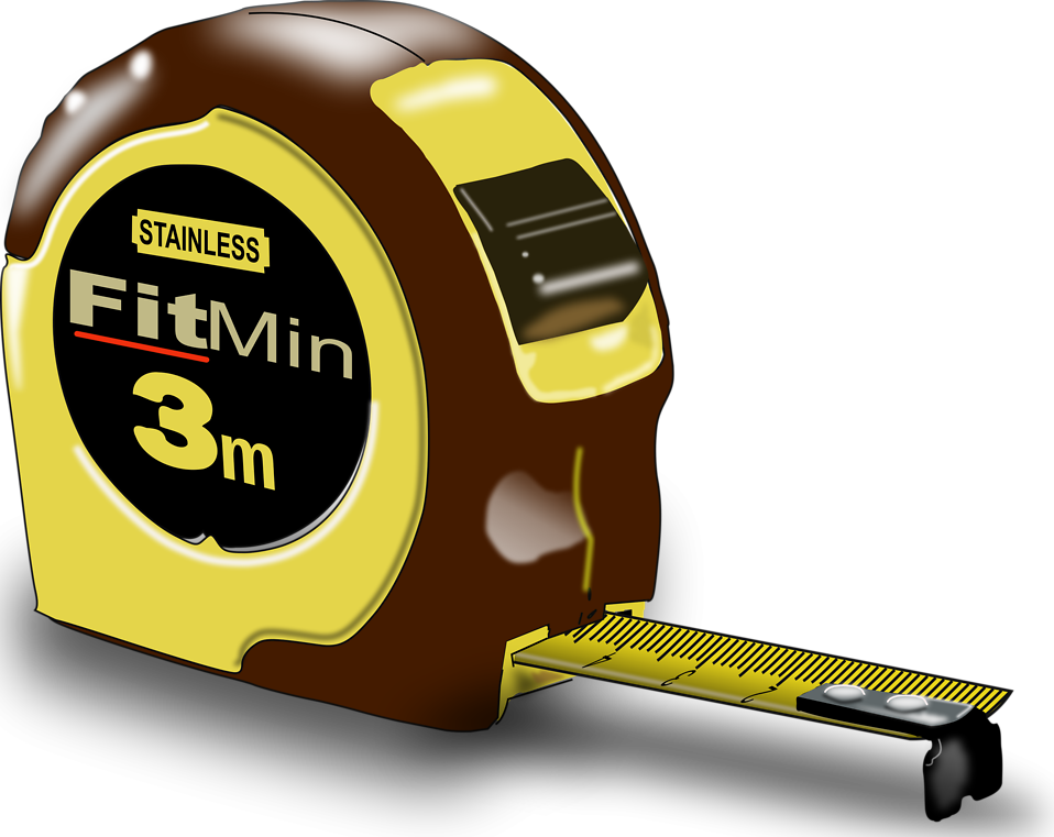 Illustration of a tape measure : Free Stock Photo