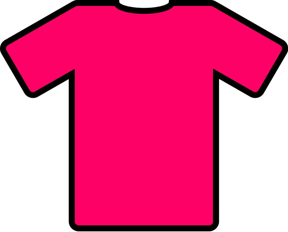 Illustration of a pink shirt : Free Stock Photo