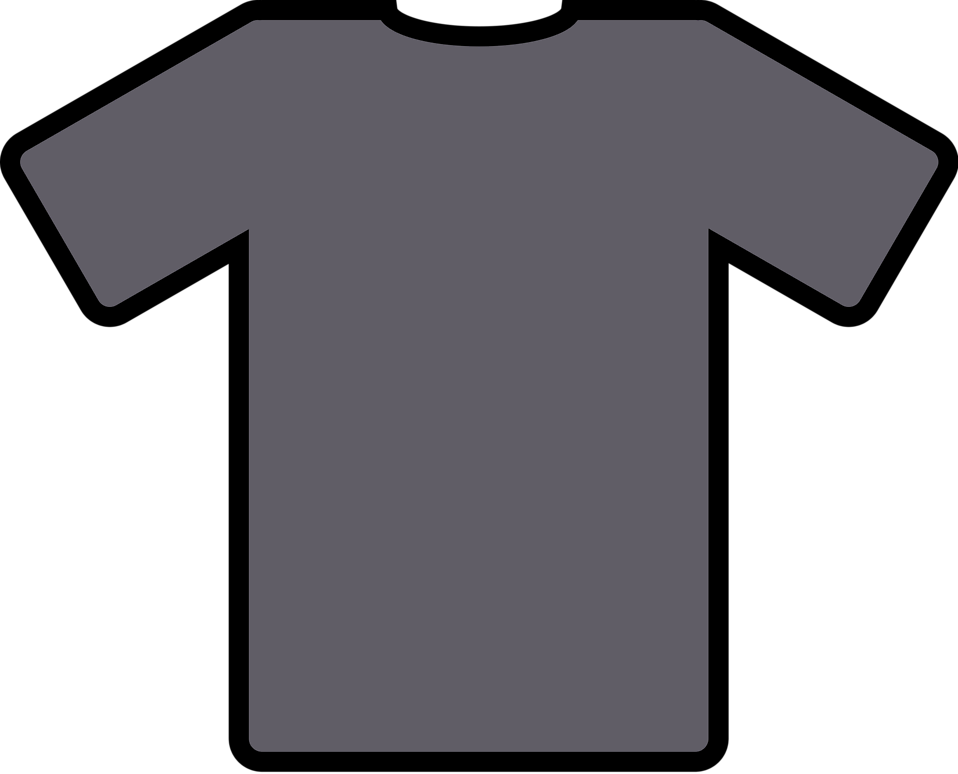 Illustration of a gray shirt : Free Stock Photo