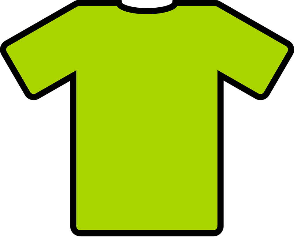 Illustration of a green shirt : Free Stock Photo