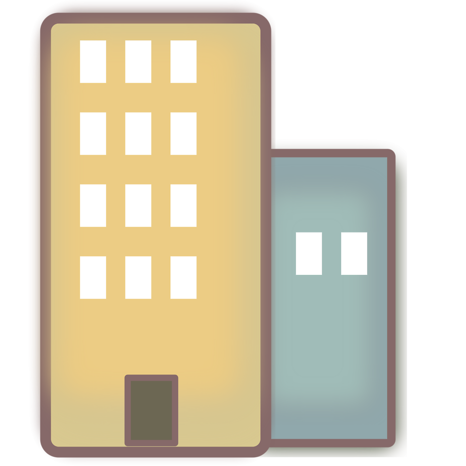 city buildings clipart - photo #46
