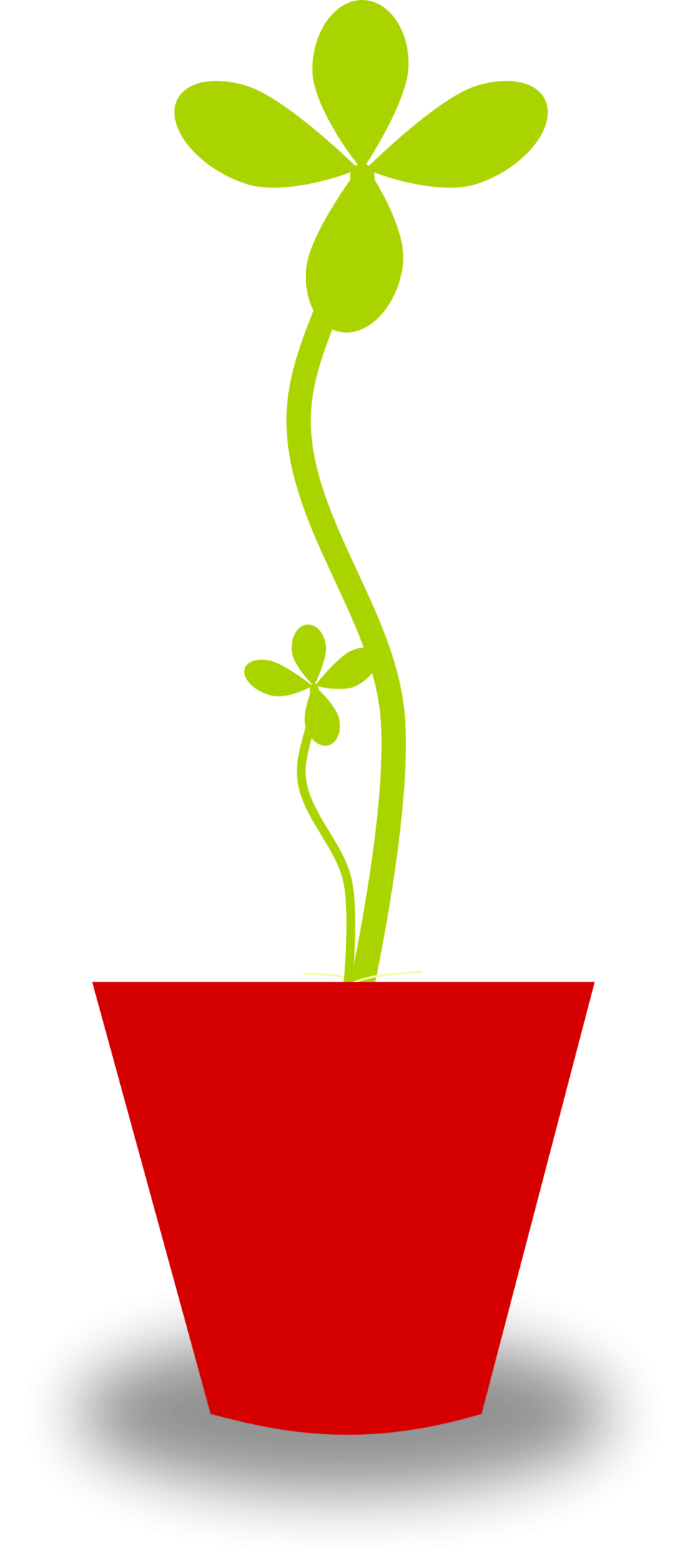 Illustration of a potted plant : Free Stock Photo