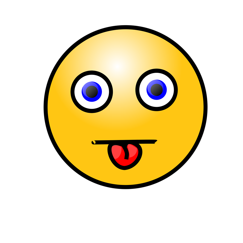 Illustration of a yellow smiley face : Free Stock Photo