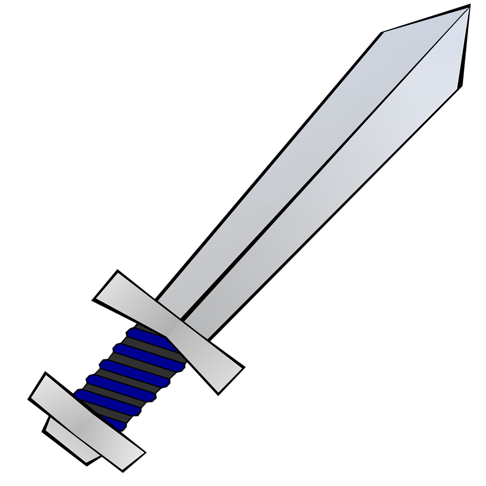 Illustration of a sword : Free Stock Photo