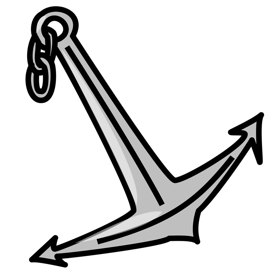 Illustration of an anchor : Free Stock Photo