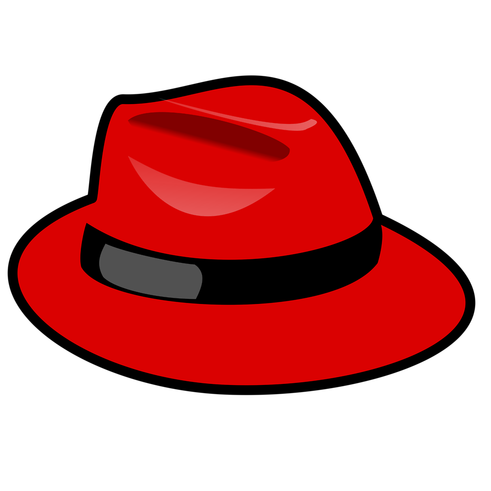 Illustration of a red cartoon hat : Free Stock Photo