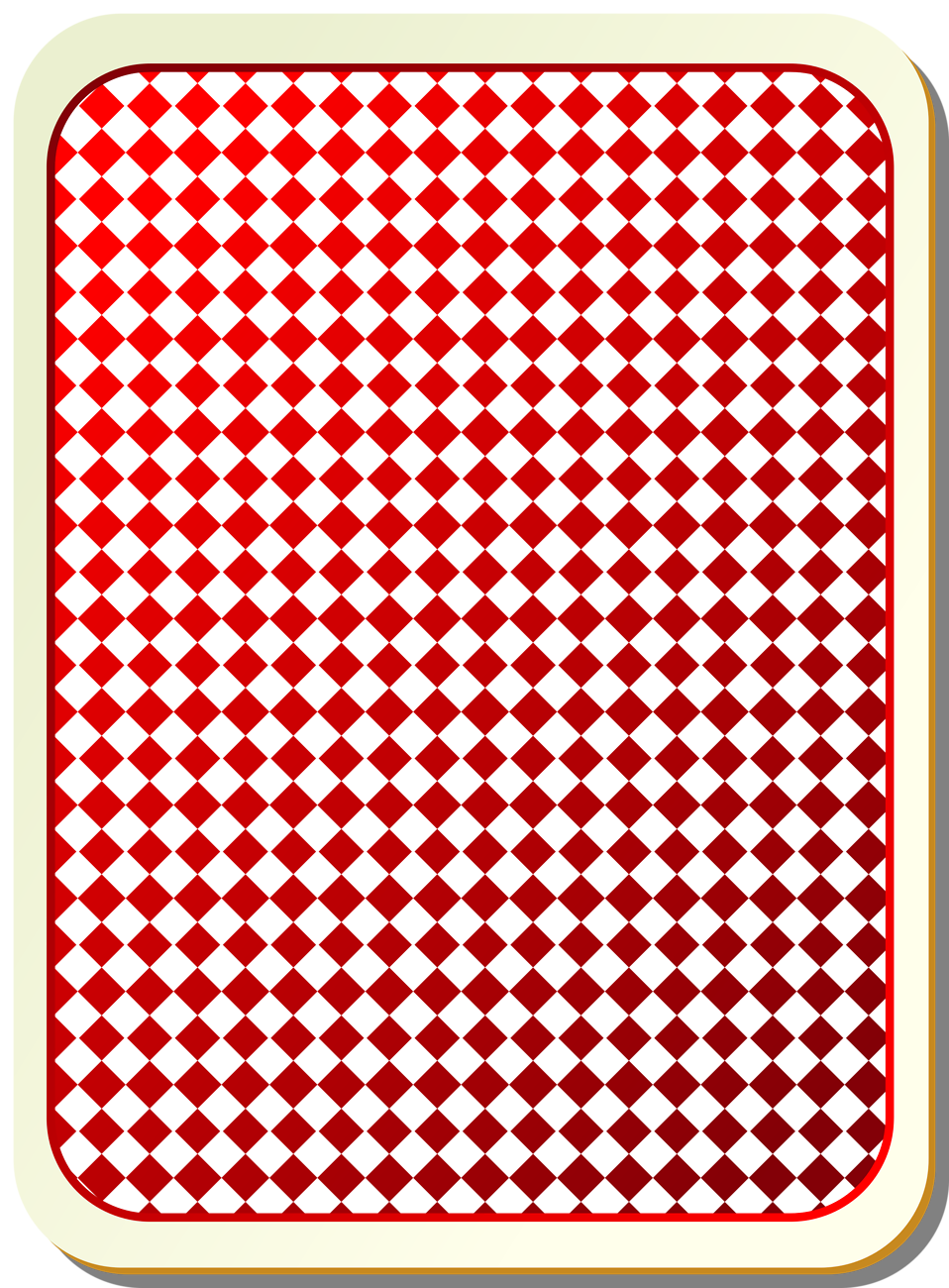 Illustration of a play card back : Free Stock Photo