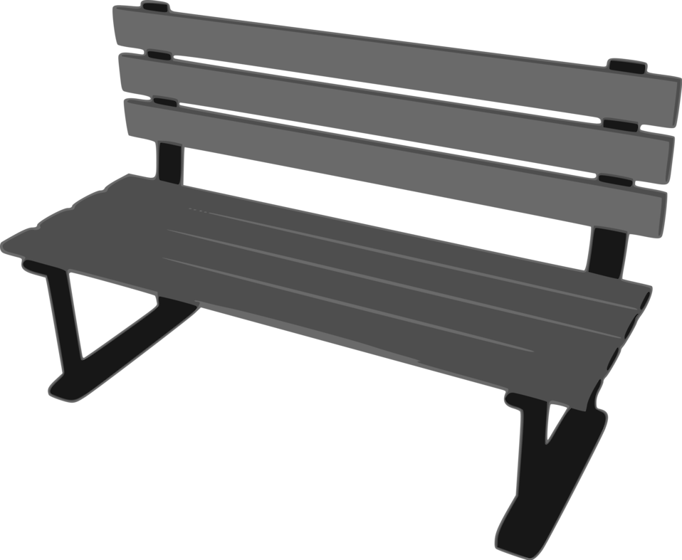 Illustration of a bench : Free Stock Photo
