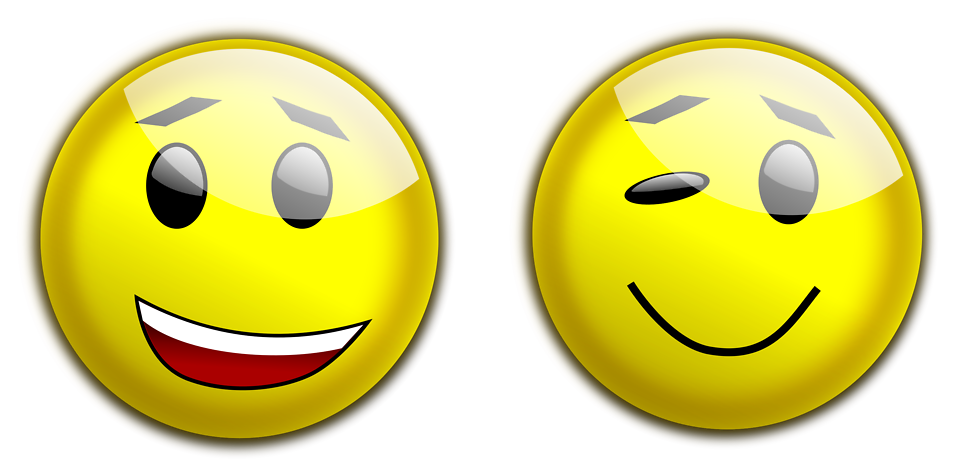 Illustration of yellow smiley faces : Free Stock Photo