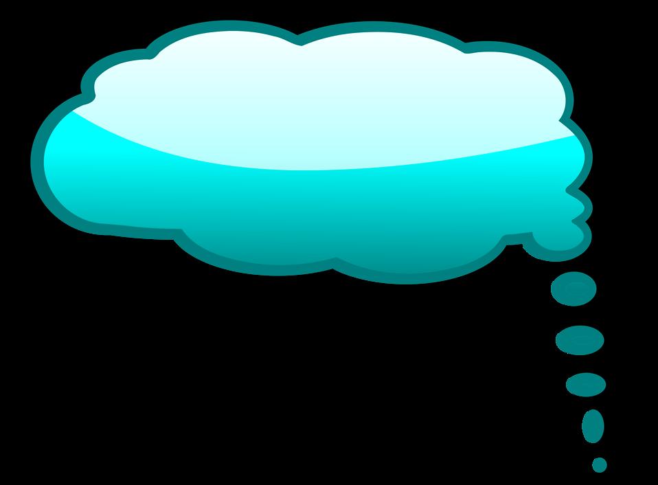 Speech Bubble | Free Stock Photo | Illustration of a blue cartoon ...