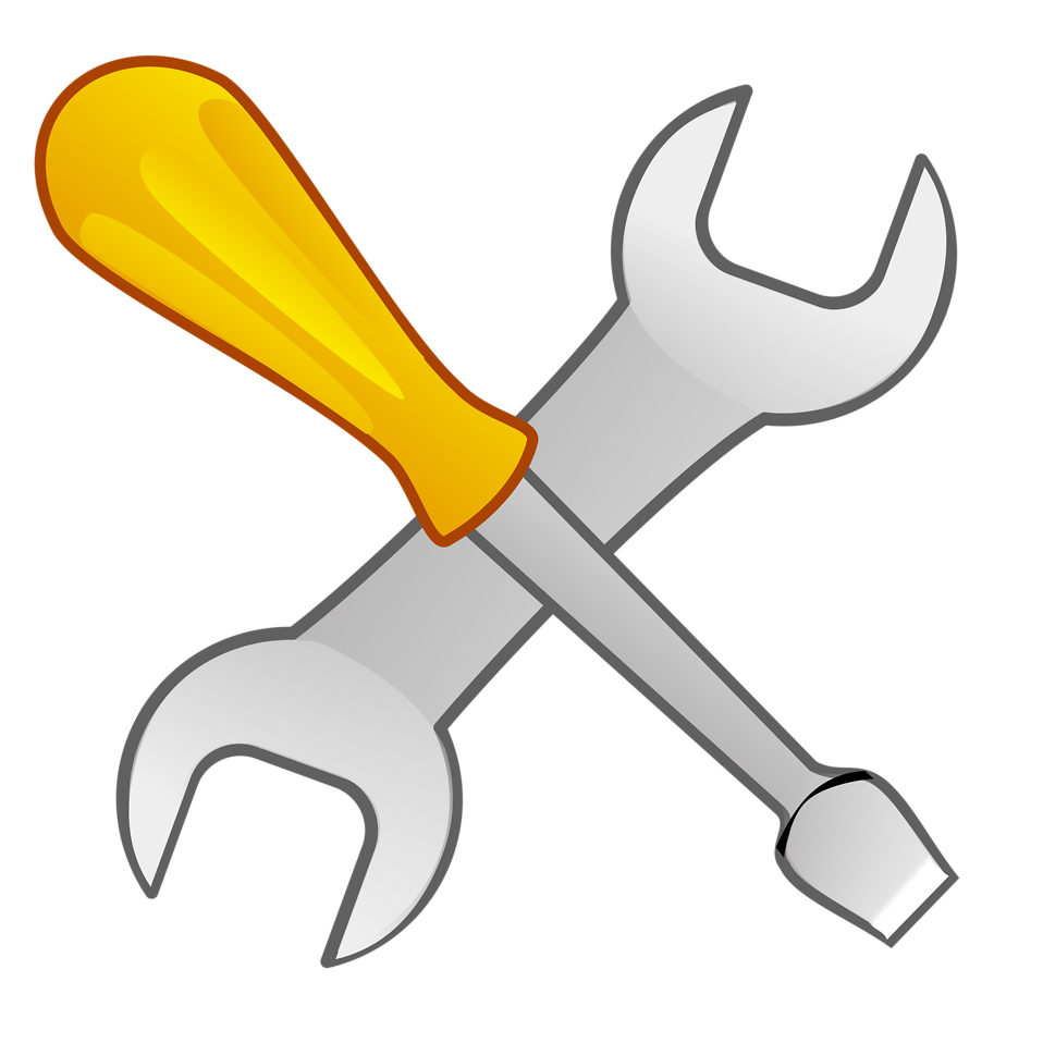 Free Stock Photo: Illustration of tools with a transparent background.