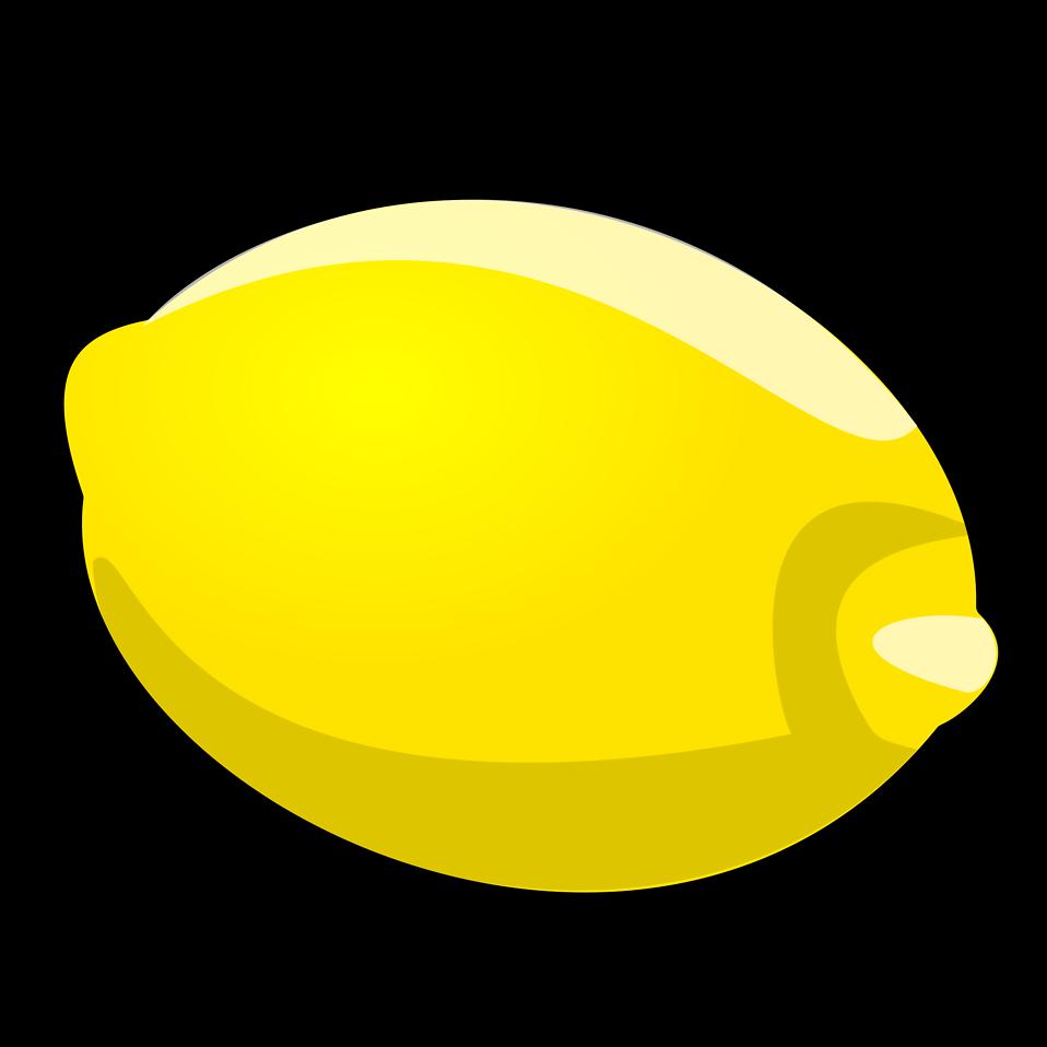 Lemon | Free Stock Photo | Illustration of a lemon | # 15911