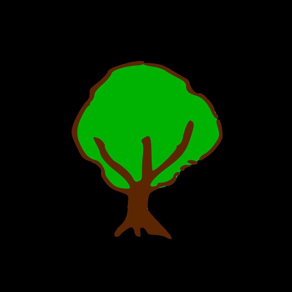 Tree | Free Stock Photo | Illustration of a small cartoon ...