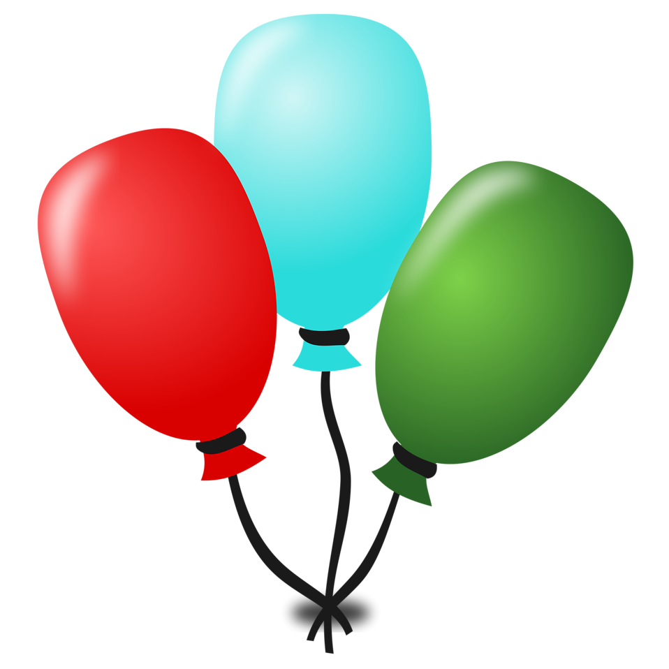 Illustration of balloons : Free Stock Photo