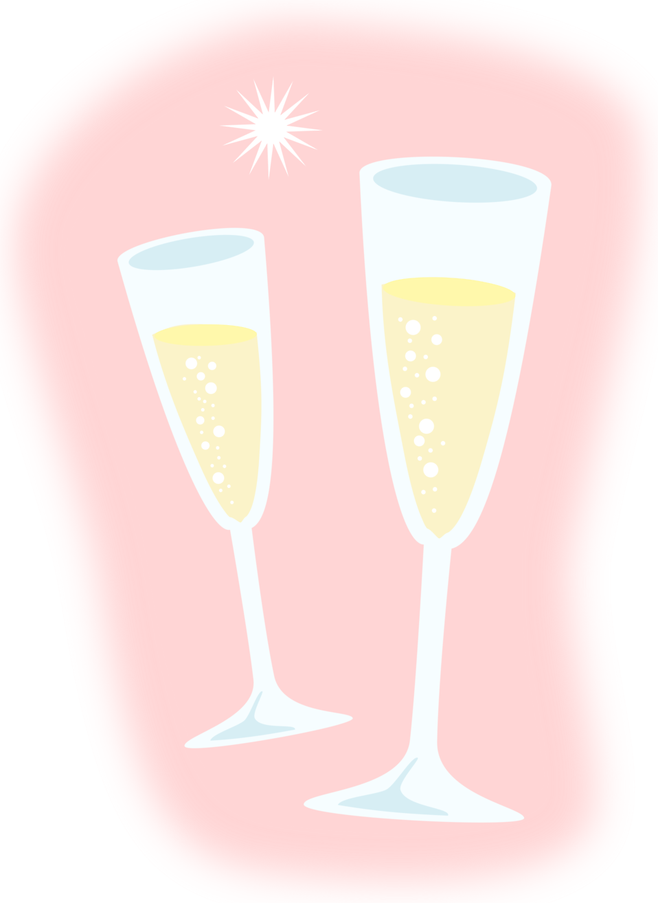 Champagne | Free Stock Photo | Illustration of champagne glasses ...