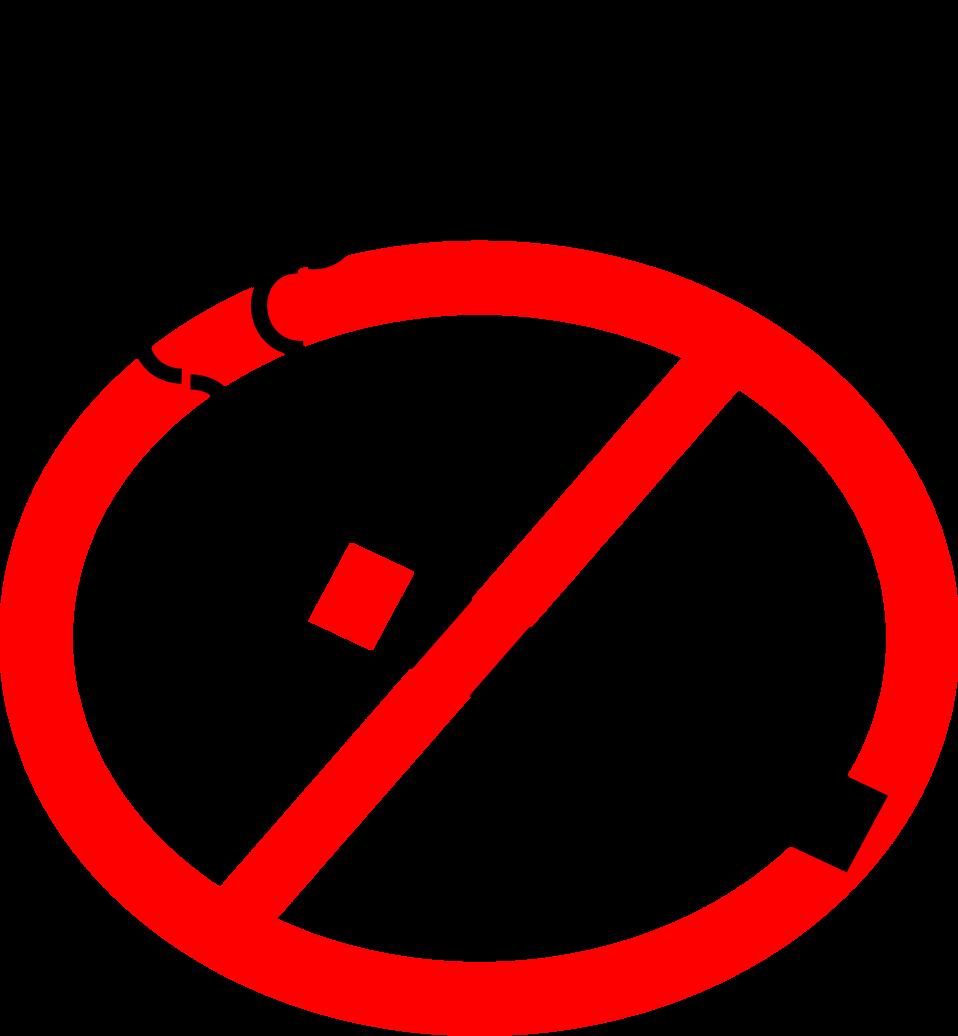 Illustration of a no smoking symbol : Free Stock Photo