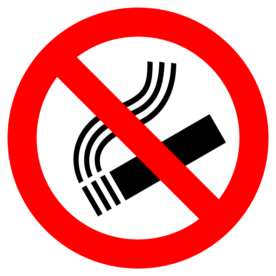 No Smoking Free Stock Photo Illustration Of A No Smoking Symbol