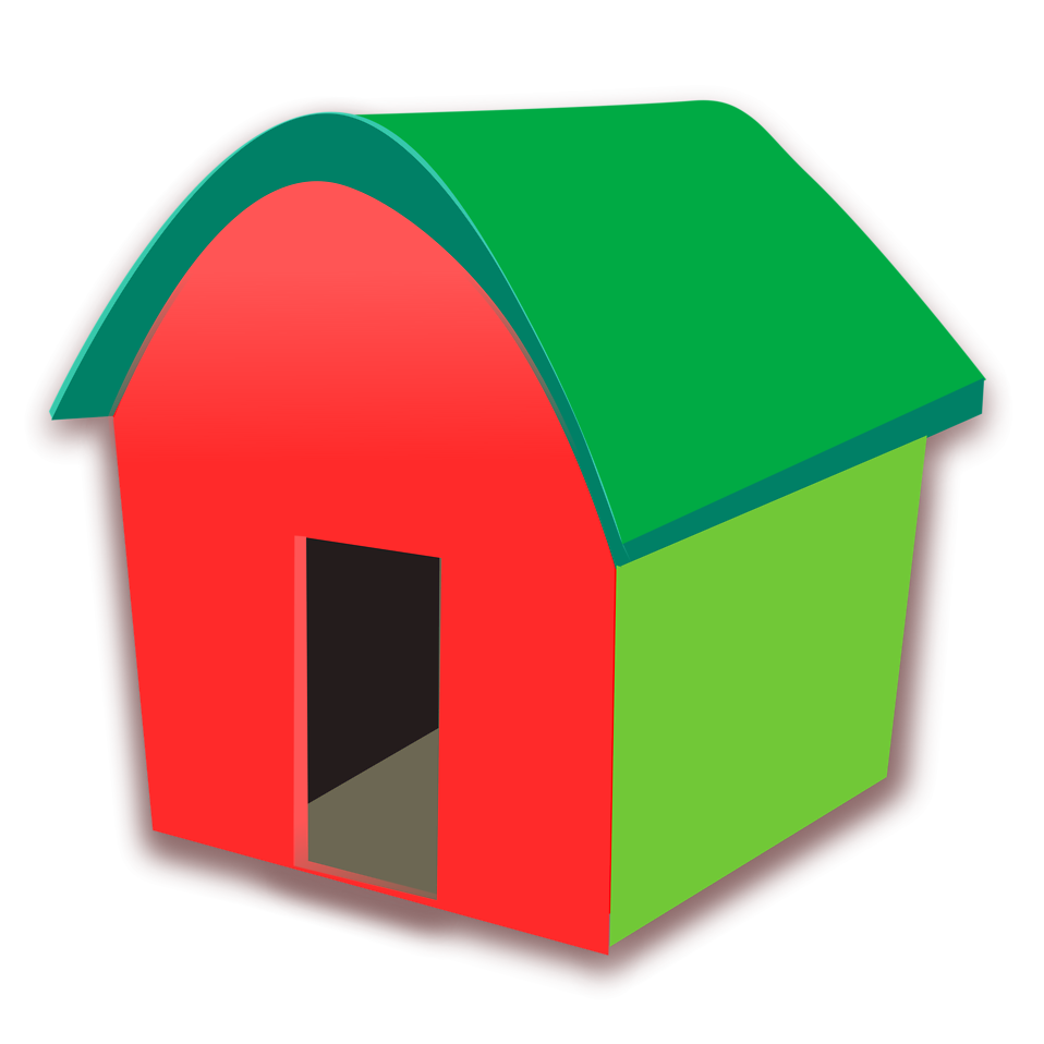 Illustration of a red home : Free Stock Photo