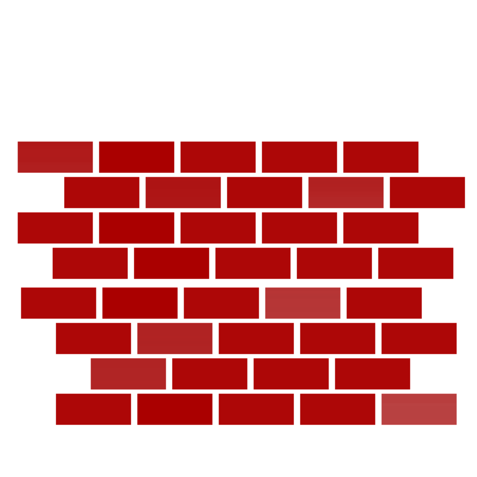 Illustration of a red brick wall : Free Stock Photo
