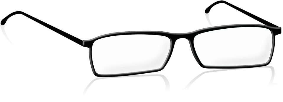 Illustration of a pair of glasses : Free Stock Photo