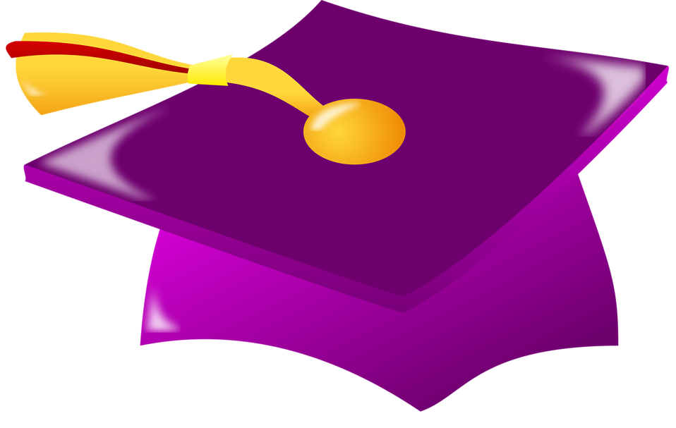 Illustration of a graduation cap : Free Stock Photo