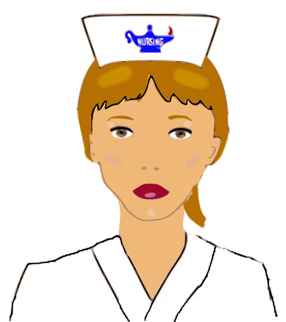 Illustration of a nurse : Free Stock Photo