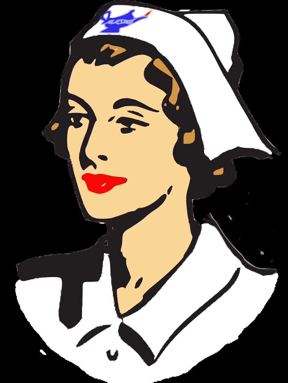 Illustration of a nurse : Free Stock Photo