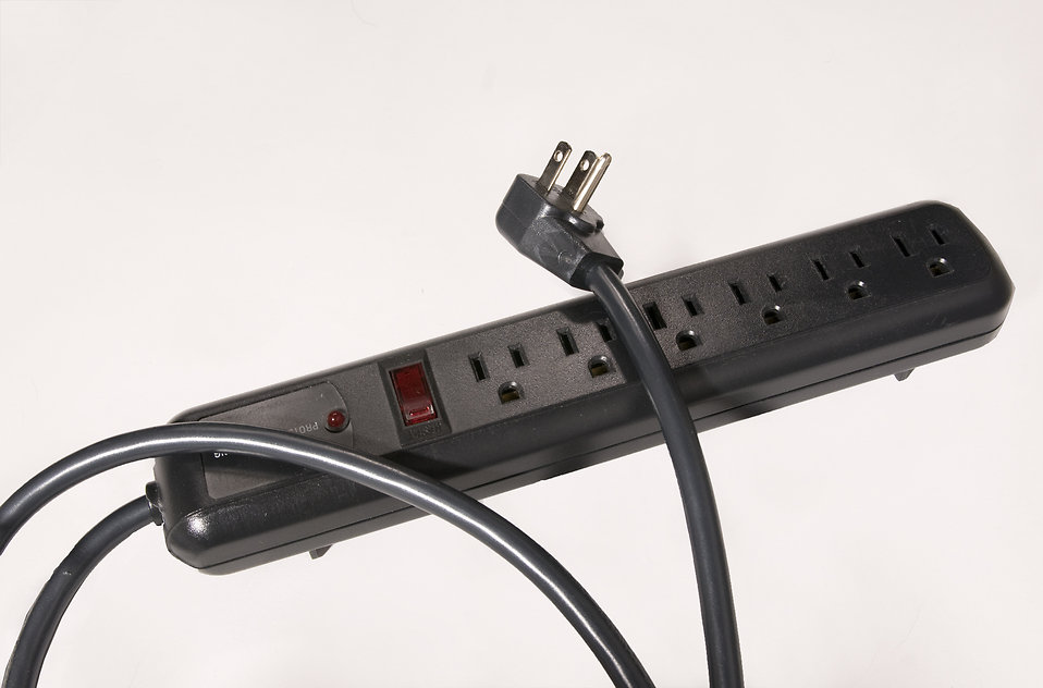 An electrical surge protector : Free Stock Photo