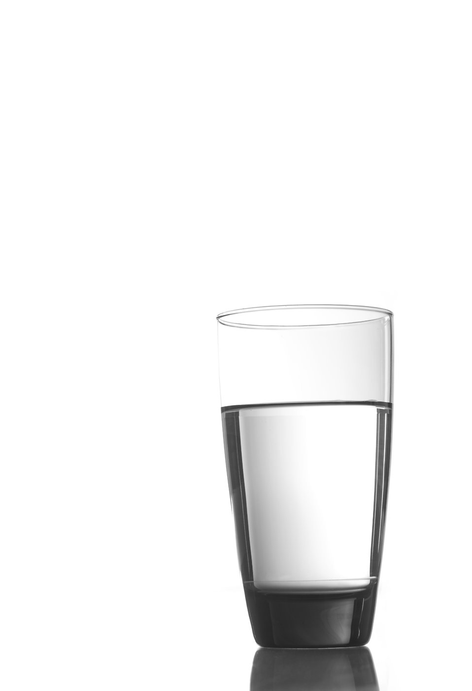 A glass of clean drinking water : Free Stock Photo