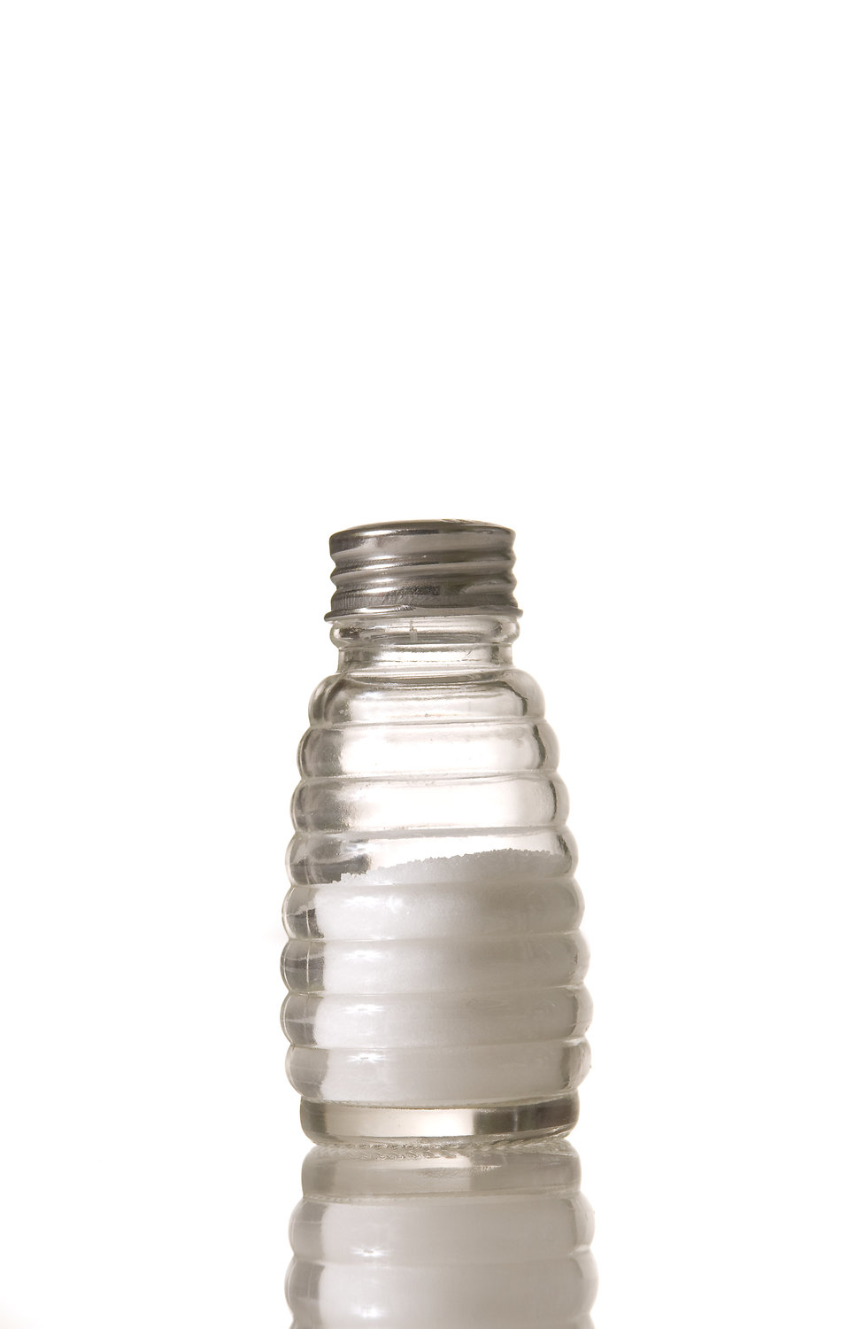 A glass salt shaker : Free Stock Photo
