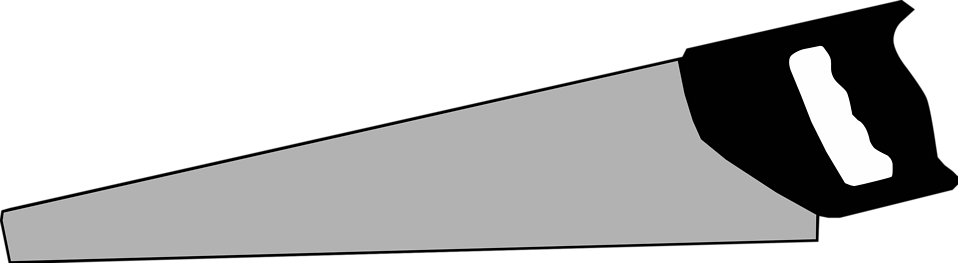 Illustration of a saw : Free Stock Photo