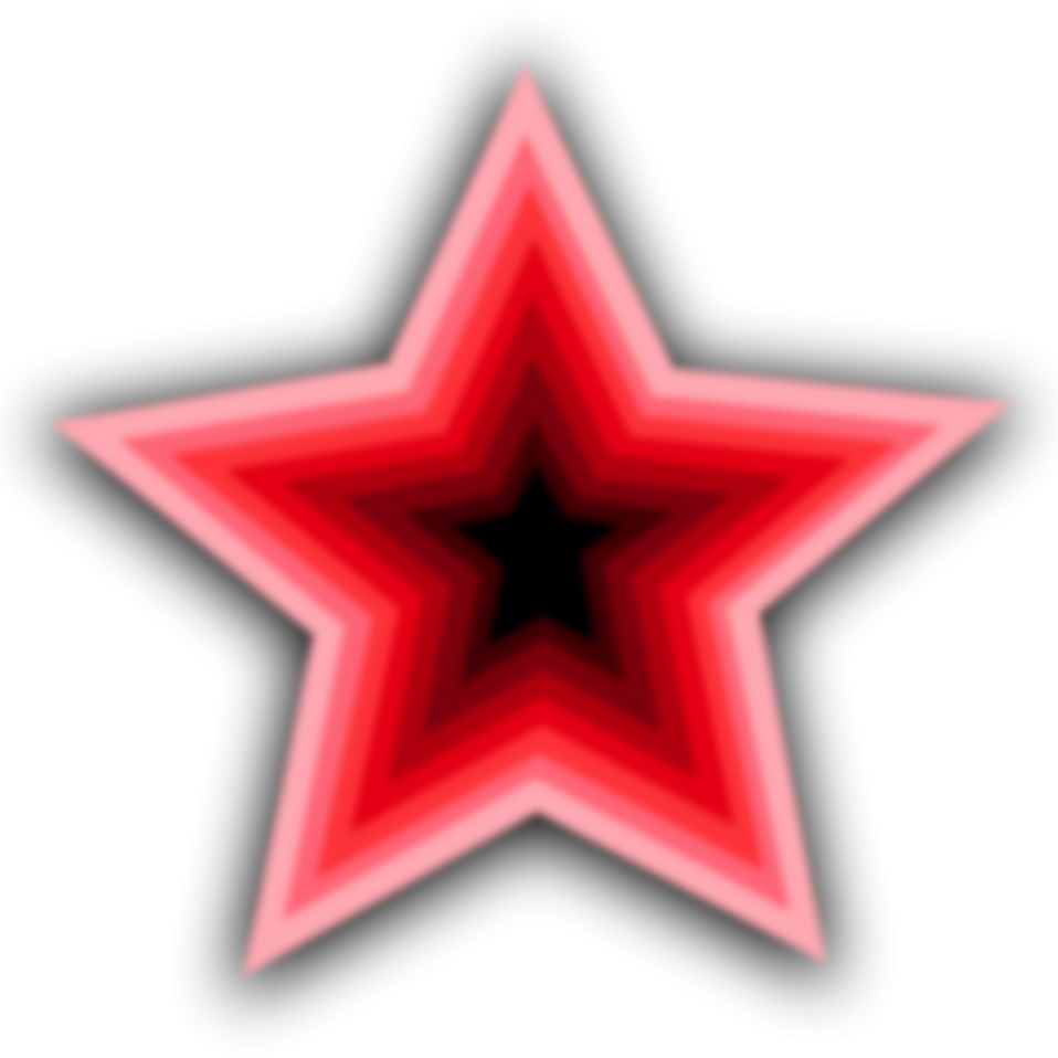 Illustration of a red star : Free Stock Photo