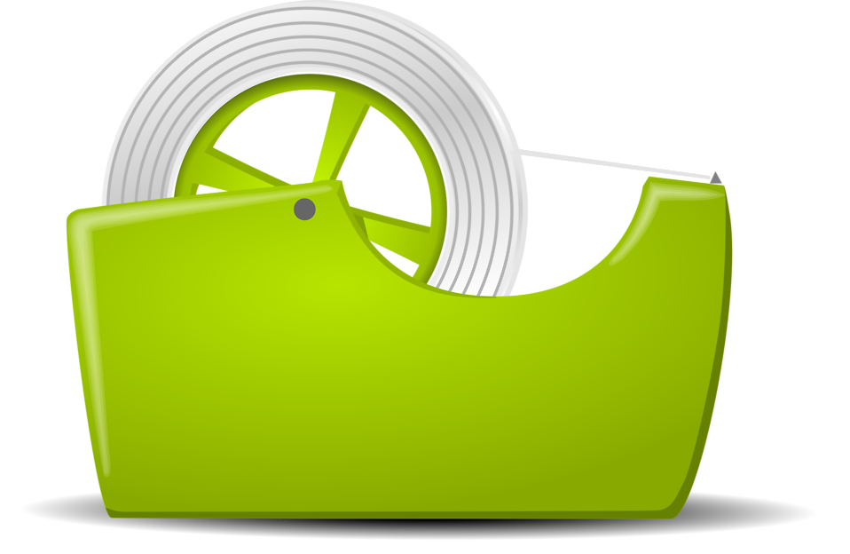Illustration of a tape dispenser : Free Stock Photo