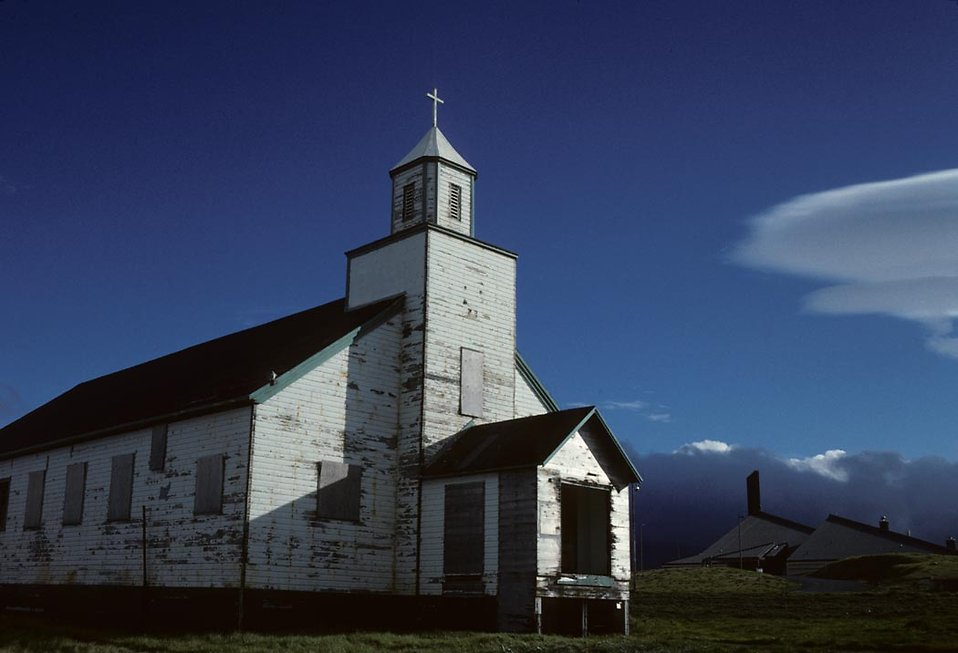 An Aleutian Church. : Free Stock Photo