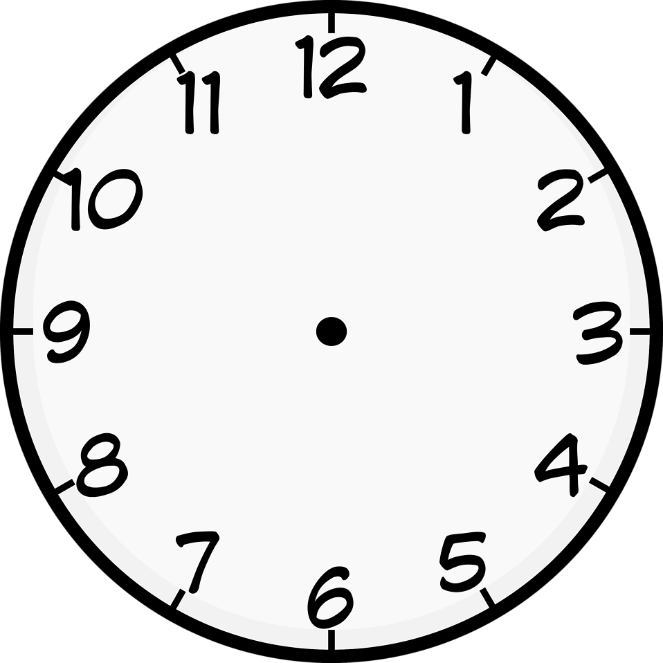 Clock : Free Stock Photo : Illustration of a clock : # 16760