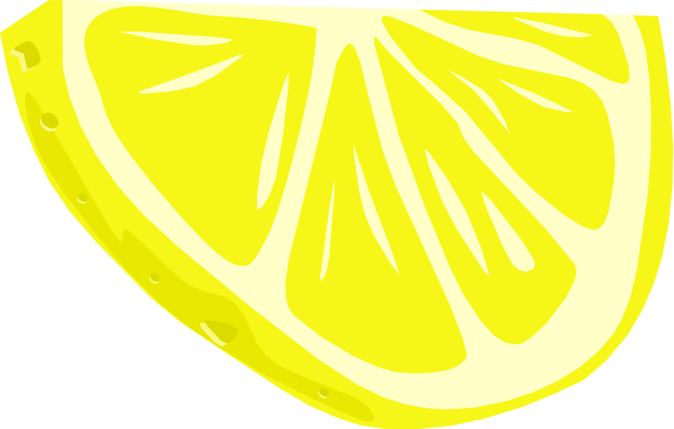Clipart Lemon Slice