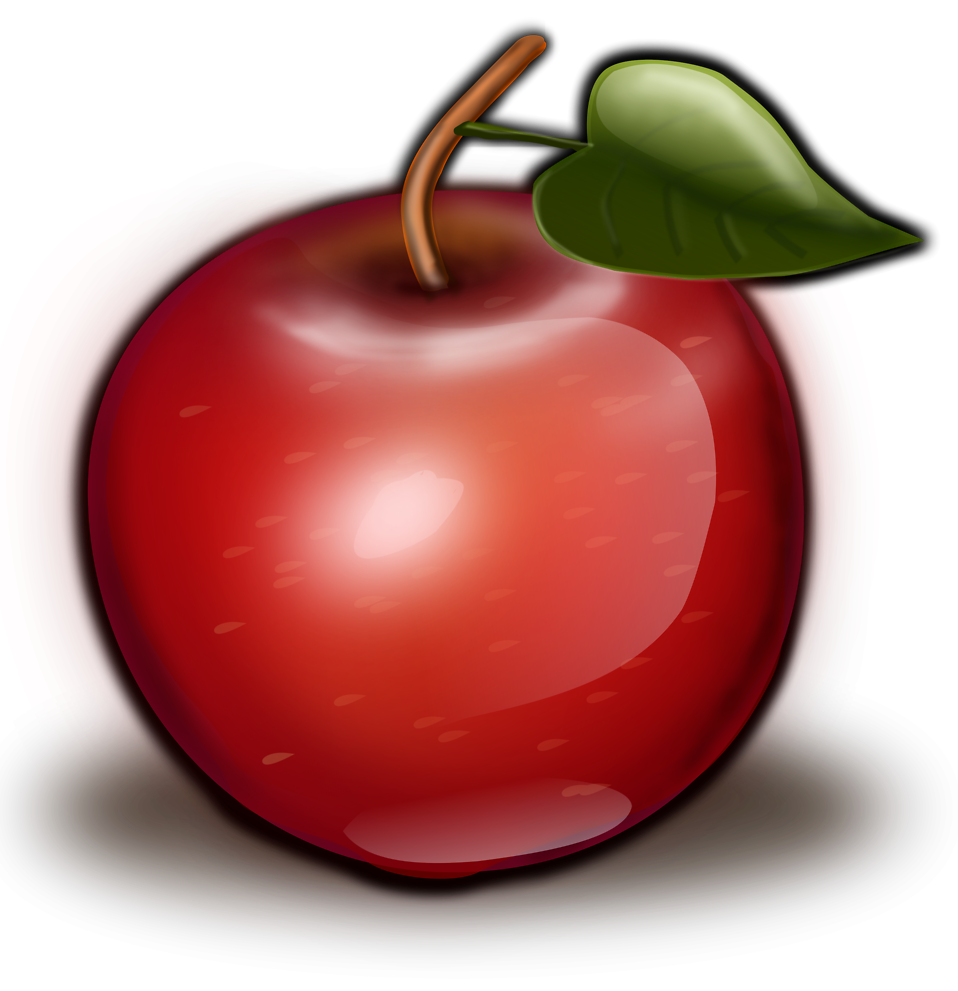 clipart picture of apple - photo #48