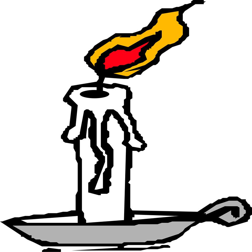 Illustration of a candle : Free Stock Photo