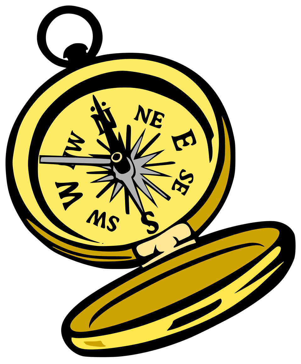 Illustration of a compass : Free Stock Photo