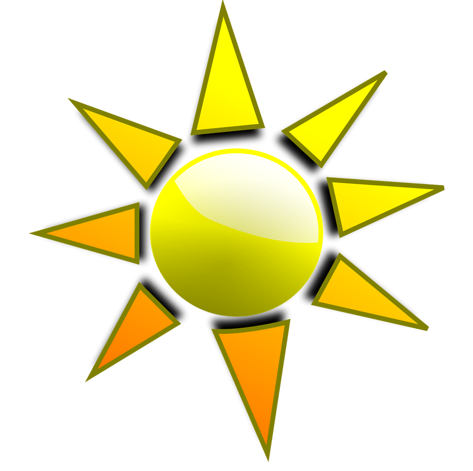 Illustration of a sun : Free Stock Photo