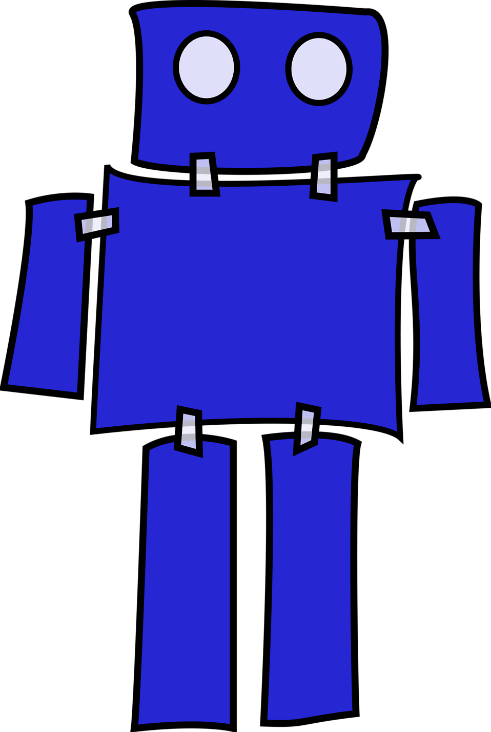 animated robot clipart - photo #25