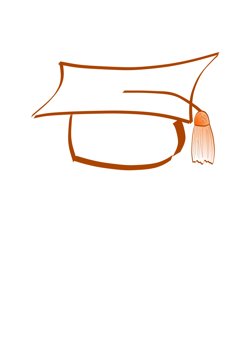 Photo  Illustration of a graduation cap with a transparent backgroundDiploma Transparent Background