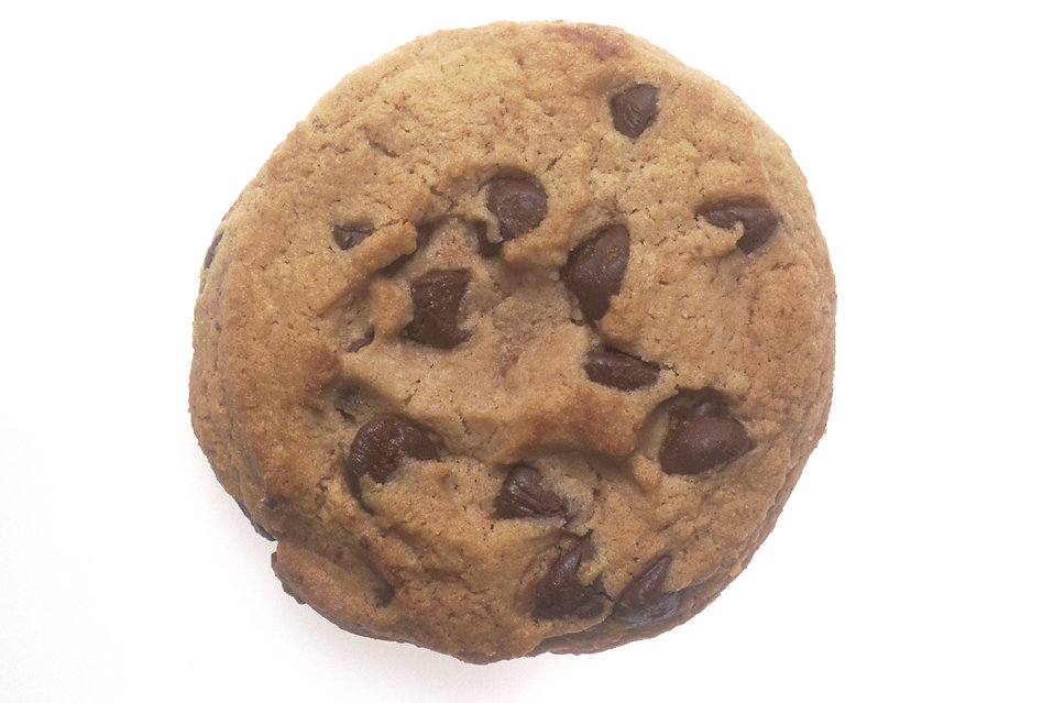 A chocolate chip cookie : Free Stock Photo