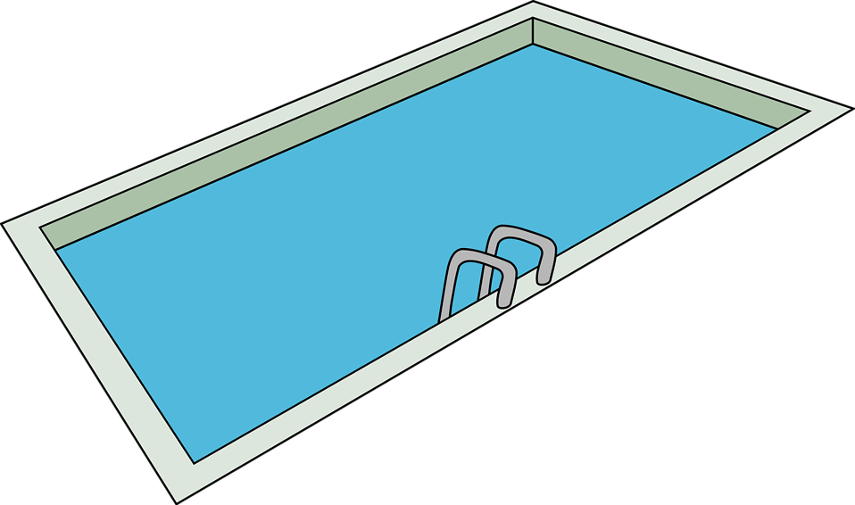 Illustration of a swimming pool : Free Stock Photo