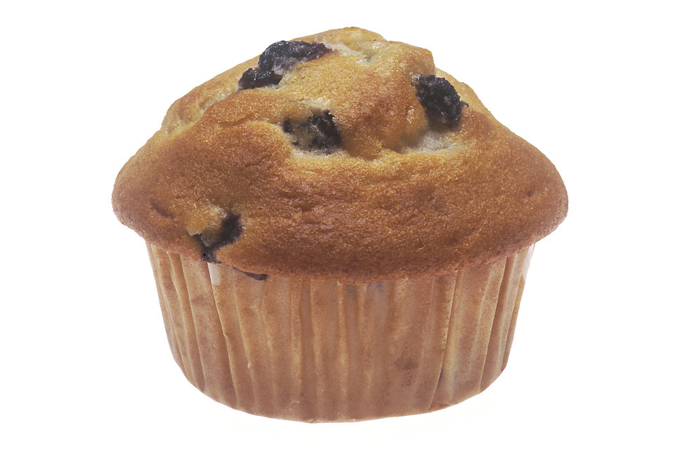 A blueberry muffin : Free Stock Photo