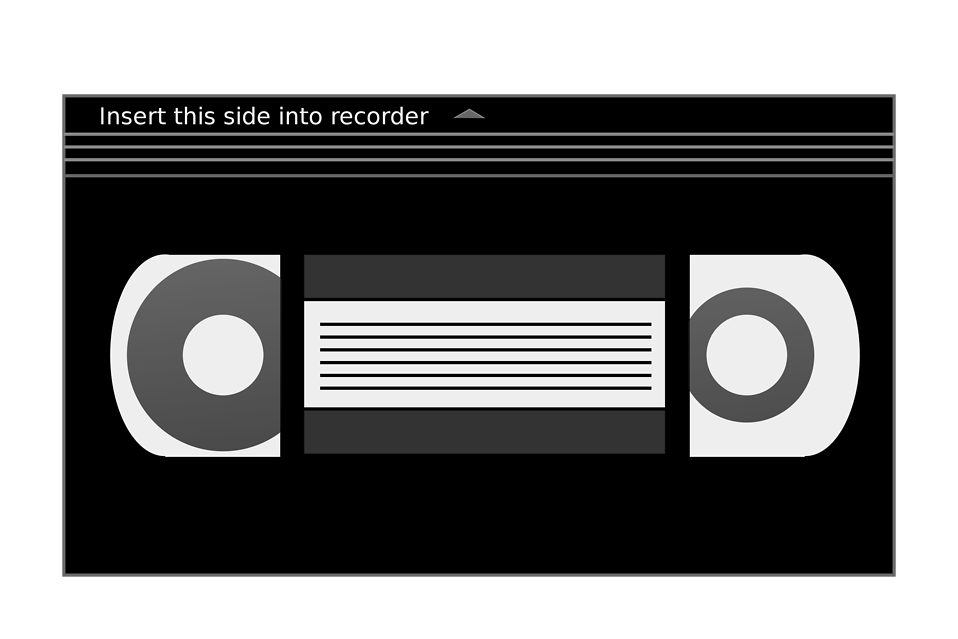 Illustration of a videotape : Free Stock Photo