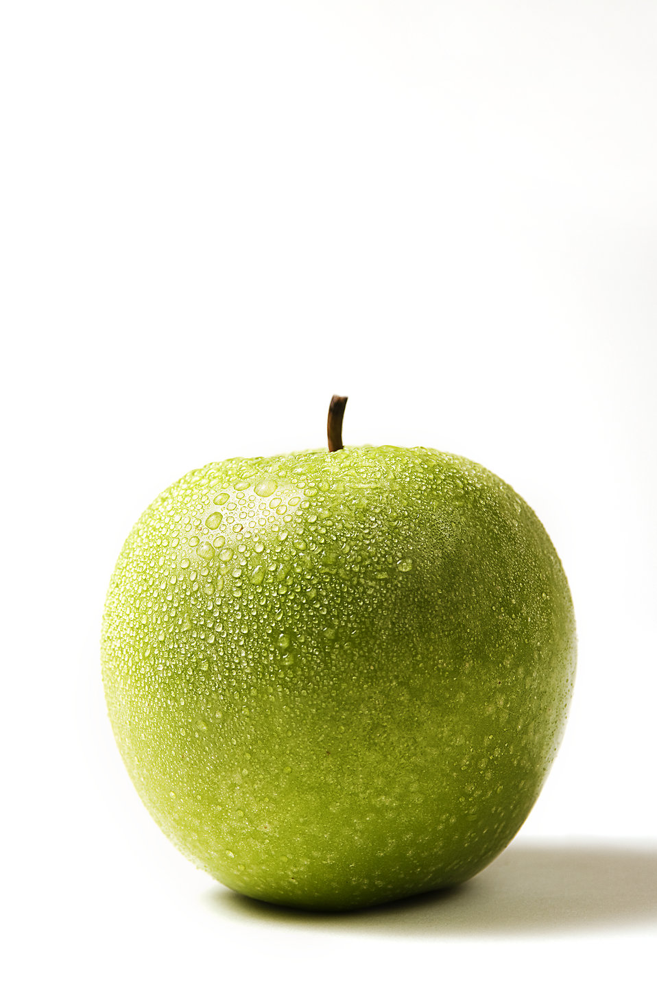 A fresh green apple : Free Stock Photo